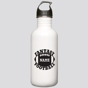 Personalized Fantasy Football Stainless Water Bott