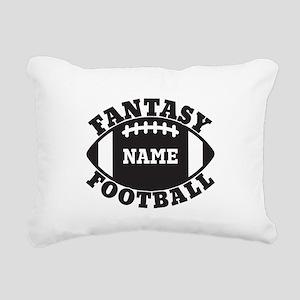 Personalized Fantasy Football Rectangular Canvas P