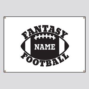 Personalized Fantasy Football Banner