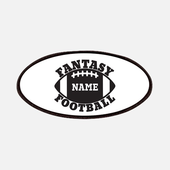 Personalized Fantasy Football Patches