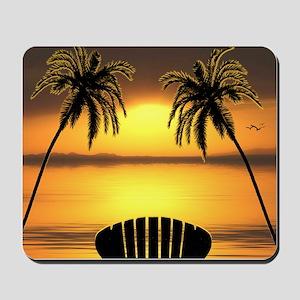 Beach Sunset Mousepad