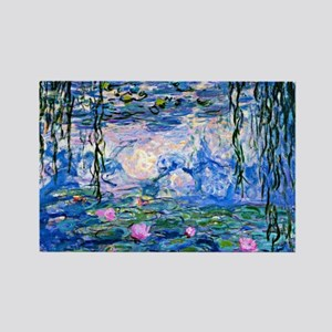 Monet - Water Lilies, 1919 Rectangle Magnet