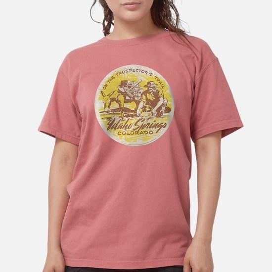 Cute Gold mining Womens Comfort Colors Shirt
