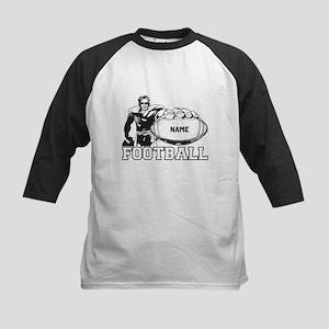 Personalized Football Player Kids Baseball Jersey