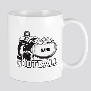 Personalized Football Player Mug