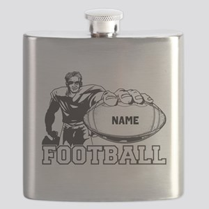 Personalized Football Player Flask