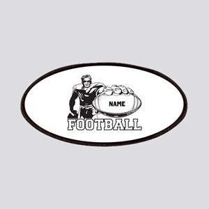 Personalized Football Player Patches