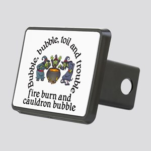 Witch Cauldron Halloween Hitch Cover