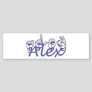 Alex Bumper Sticker