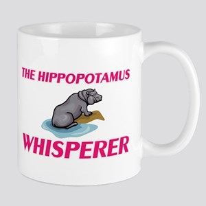 The Hippopotamus Whisperer Mugs