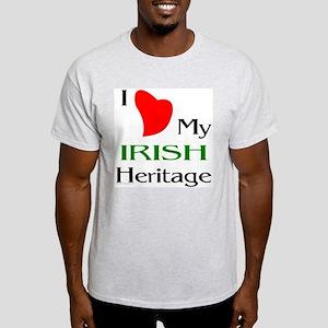 Irish Heritage Ash Grey T-Shirt