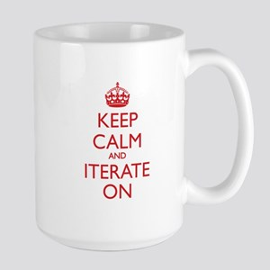KEEP CALM and ITERATE ON Mugs