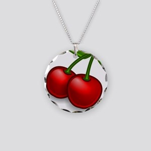 Two Cherries Necklace