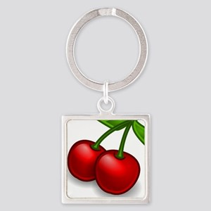 Two Cherries Keychains