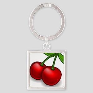 Two Cherries Keychains
