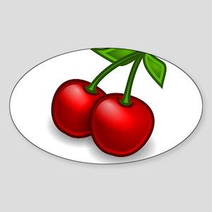 Two Cherries Sticker