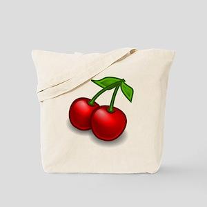 Two Cherries Tote Bag