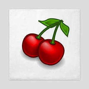 Two Cherries Queen Duvet