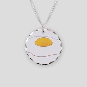 Fried Egg Necklace