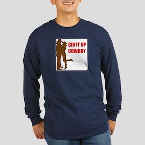 GID IT UP Long Sleeve Dark T-Shirt