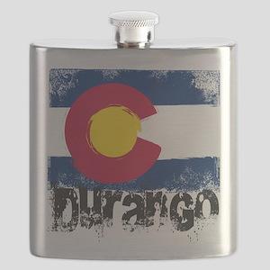 Durango Grunge Flag Flask