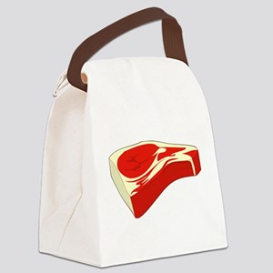 Steak Canvas Lunch Bag
