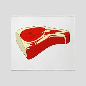 Steak Throw Blanket