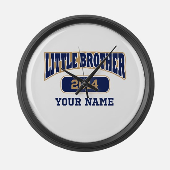 Custom Little Brother Large Wall Clock