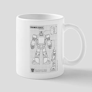 Bumblebee Blueprint Mugs