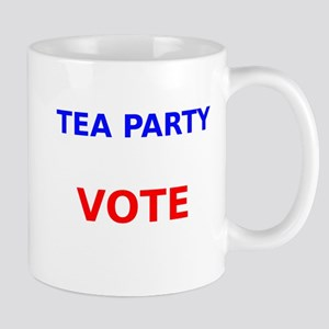 Tea Party Vote Mugs