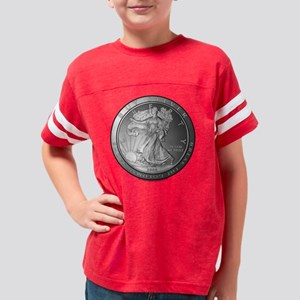 Buy-Silver2 Youth Football Shirt