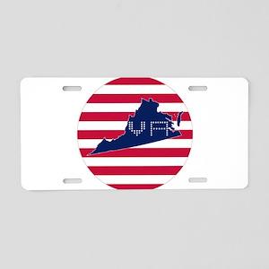 VA-C Aluminum License Plate