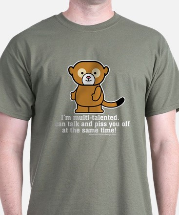 Multi-Talented Monkey T-Shirt
