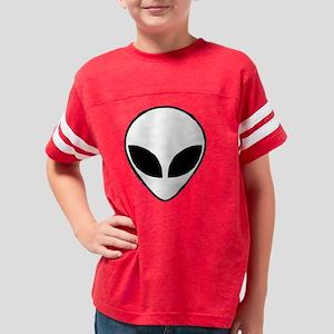 alien_white Youth Football Shirt
