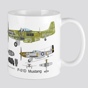 P-51 Mustang Double Trouble Mugs