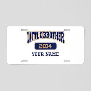 Custom Little Brother Aluminum License Plate
