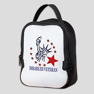 Disabled Veteran Neoprene Lunch Bag
