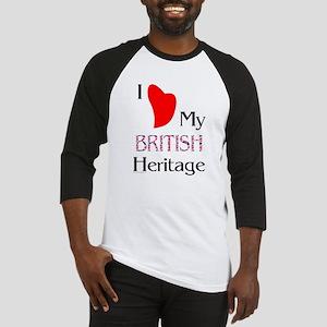 British Heritage Baseball Jersey