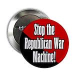 Stop the Republican War Machine Button