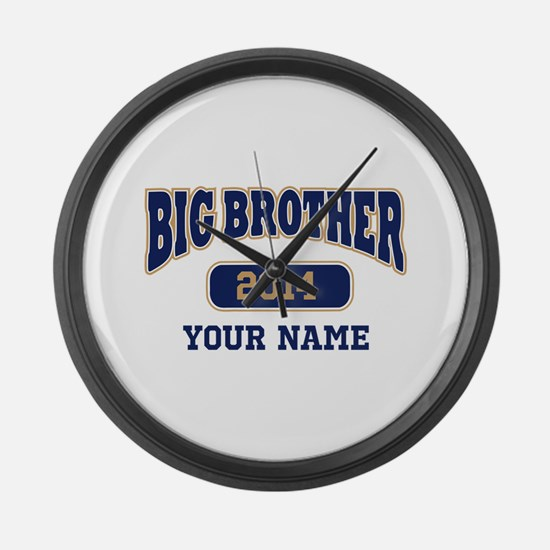 Personalized Big Brother Large Wall Clock