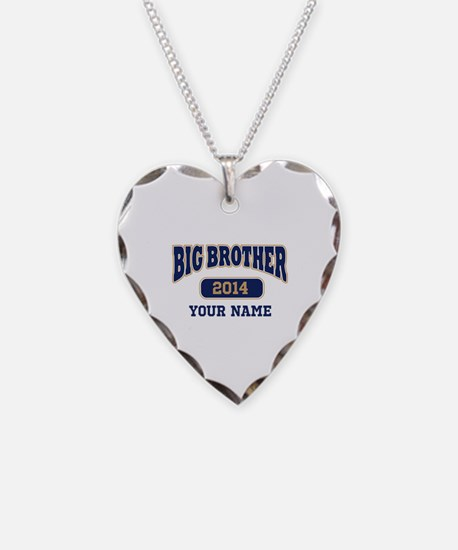 Personalized Big Brother Necklace