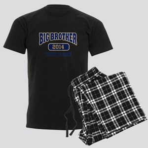 Personalized Big Brother Men's Dark Pajamas