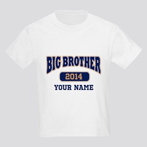 Personalized Big Brother Kids Light T-Shirt