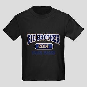 Personalized Big Brother Kids Dark T-Shirt