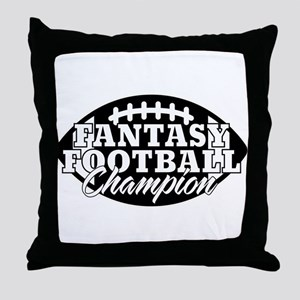 Personalized Fantasy Football Throw Pillow