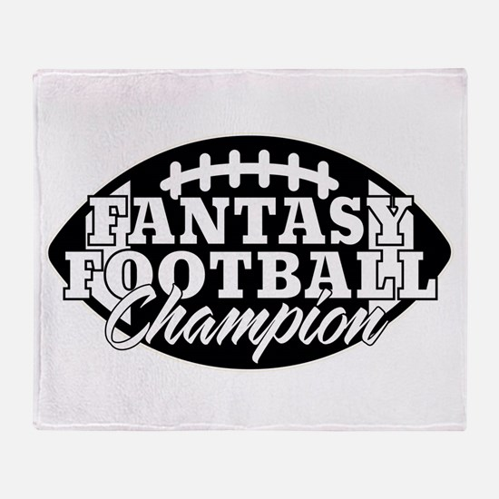 Personalized Fantasy Football Throw Blanket