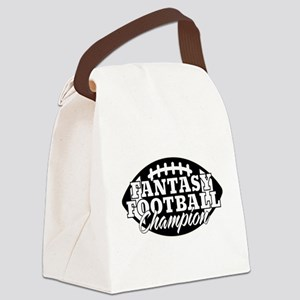 Personalized Fantasy Football Canvas Lunch Bag