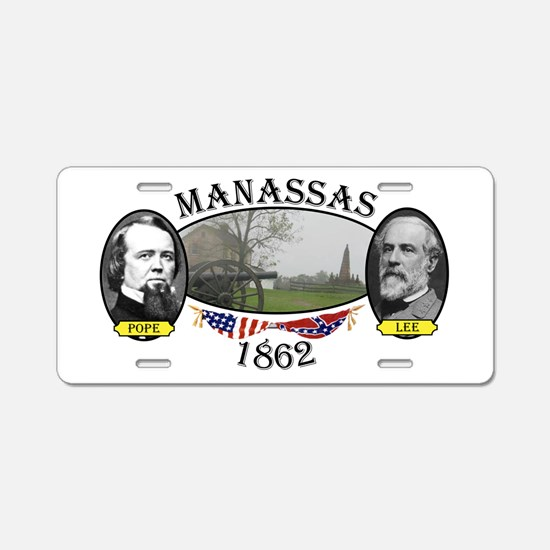 Manassas (2nd) Aluminum License Plate