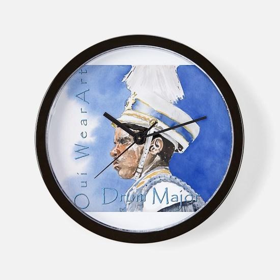 Drum Major Wall Clock