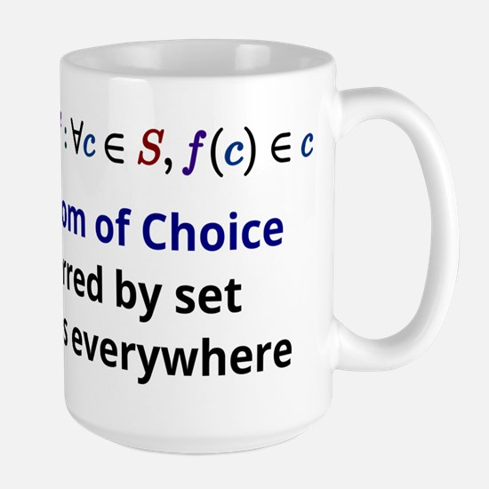 The Axiom of Choice Mugs